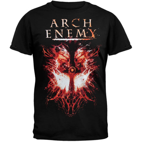 Arch Enemy - Twin Skulls Dates Black T-Shirt