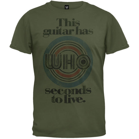 The Who - Guitar Has Seconds To Live Soft T-Shirt