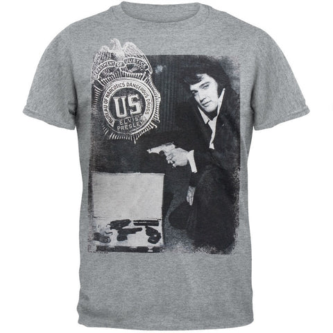 Elvis Presley - Badge Soft T-Shirt