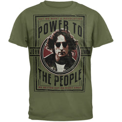 John Lennon - Power To The People Soft T-Shirt