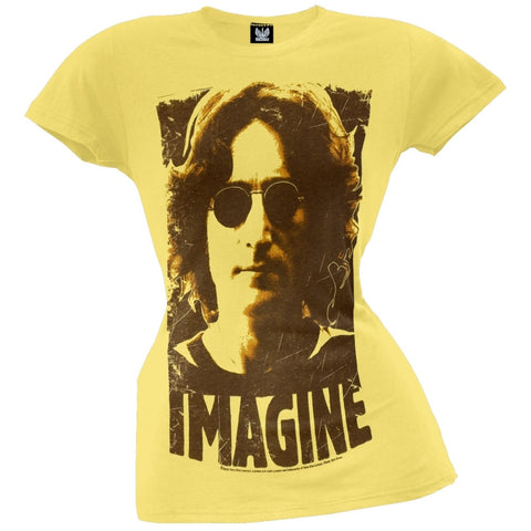 John Lennon - Imagine Juniors T-Shirt