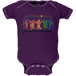 Grateful Dead - Rainbow Critters Baby One Piece