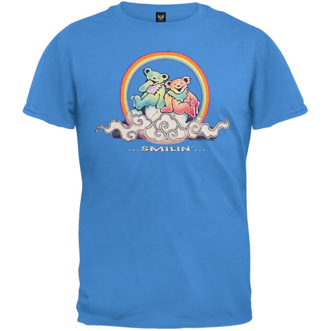 Grateful Dead - Smilin Cloud Bears Blue Youth T-Shirt