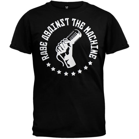 Rage Against The Machine - Mic Fist Soft T-Shirt