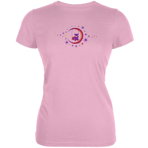 Grateful Dead - Moon Swing Light Pink Juniors T-Shirt