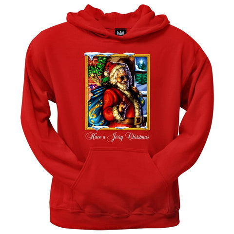 Jerry Garcia - Christmas Pullover Hoodie