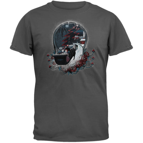 Grateful Dead - Winter Sleigh Charcoal T-Shirt