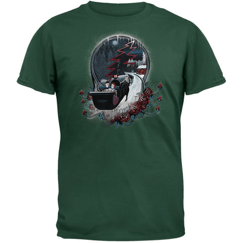 Grateful Dead - Winter Sleigh Forest T-Shirt