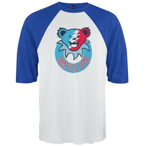 Grateful Dead - Smiley Bear Blue Raglan