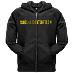 Social Distortion - Spray Paint Zip Hoodie