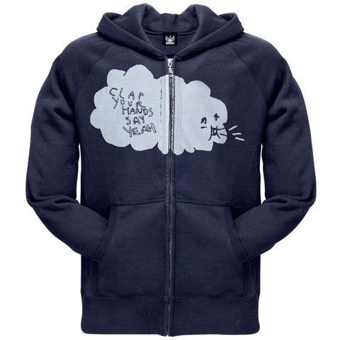 Clap Your Hands Say Yeah - Clouds Zip Hoodie