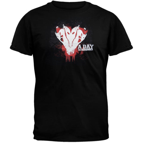 A Day To Remember - Gator Heart T-Shirt