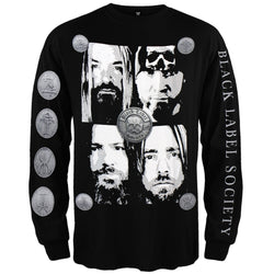 Black Label Society - Faces Long Sleeve T-Shirt