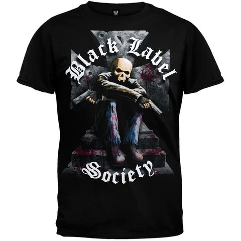 Black Label Society - Two Guns Jumbo Print T-Shirt