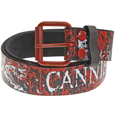 Cannibal Corpse - Skeleton Blood Leather Belt