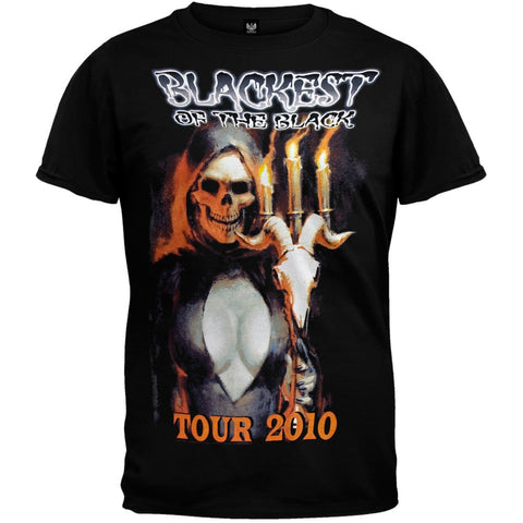 Danzig - Blackest Of Black 2010 Tour T-Shirt