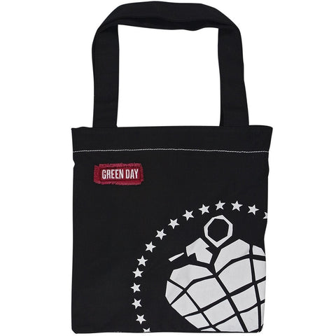 Green Day - Grenade Heart Tote Bag