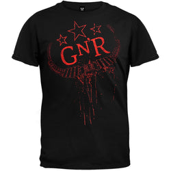 Guns N Roses - Fatigue 09 Tour T-Shirt