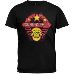 Guns N Roses - Wheat Skull 09 Tour T-Shirt