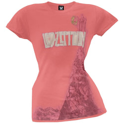Led Zeppelin - All That Glitters Premium Girls T-Shirt