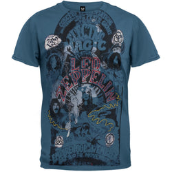 Led Zeppelin - Magic Foil Premium T-Shirt