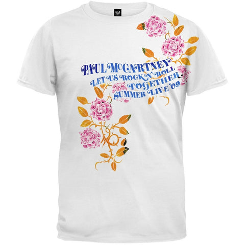 Paul McCartney - Rock Roses Soft T-Shirt