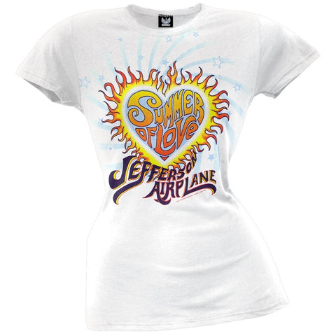 Jefferson Airplane - Summer Of Love Juniors T-Shirt