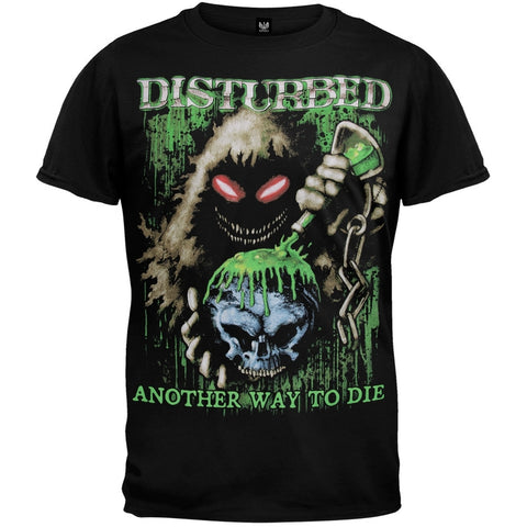 Disturbed - Toxic Globe Black T-Shirt