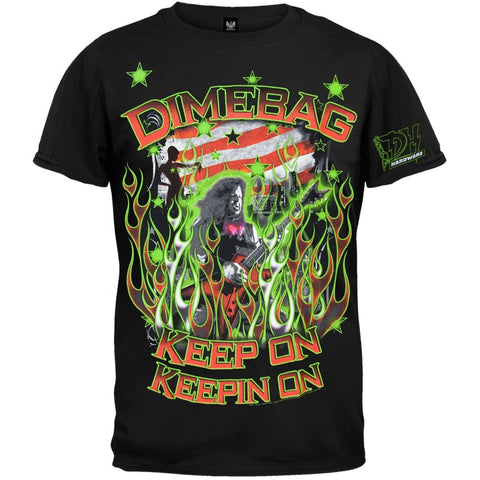 Dimebag Darrell - Flags & Stars T-Shirt