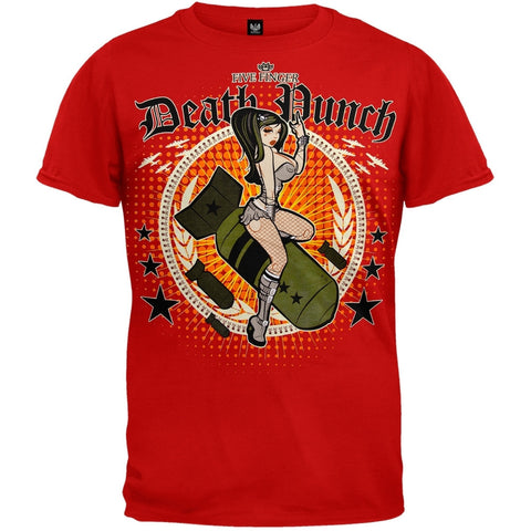 Five Finger Death Punch - Bomber Girl T-Shirt
