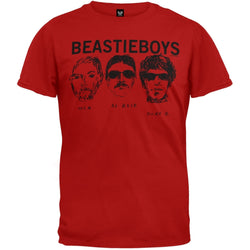 Beastie Boys - 3 Heads Soft T-Shirt