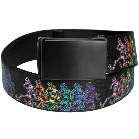 Grateful Dead - Dancing Skeletons Web Belt