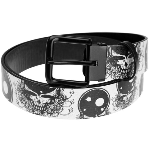 Grateful Dead - Space Your Face Leather Belt