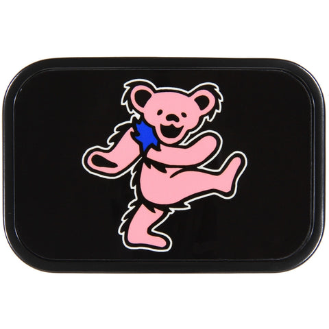 Grateful Dead - Pink Dancing Bear Belt Buckle
