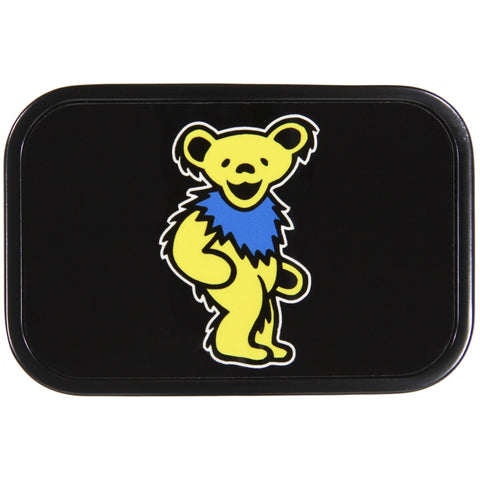 Grateful Dead - Yellow Dancing Bear Belt Buckle