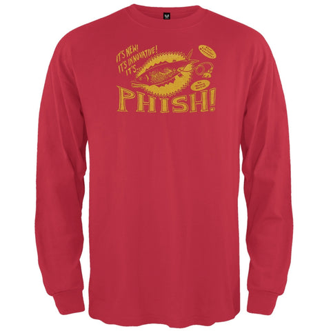 Phish - Pollock Unplugged Long Sleeve T-Shirt