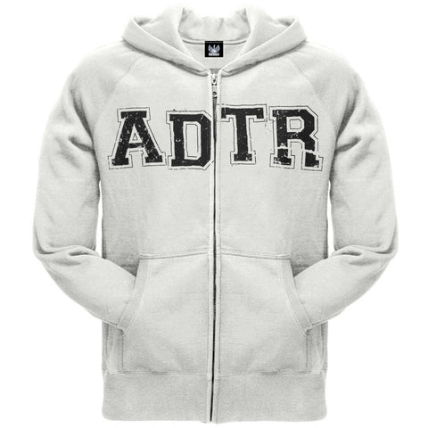 A Day To Remember - University White Adult Zip Hoodie