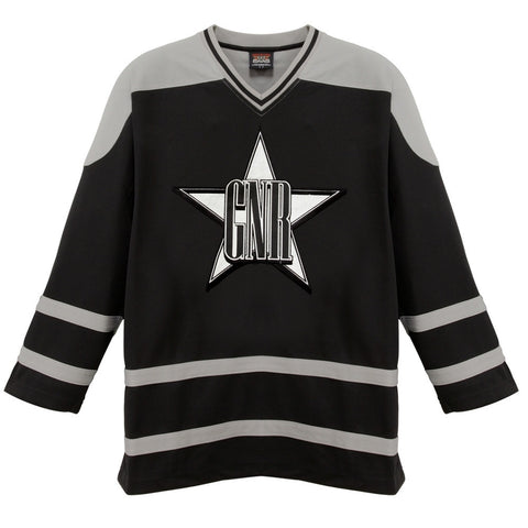 Guns N Roses - Star Logo Hockey Jersey