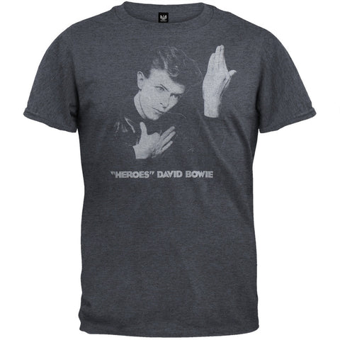David Bowie - Heroes Soft T-Shirt