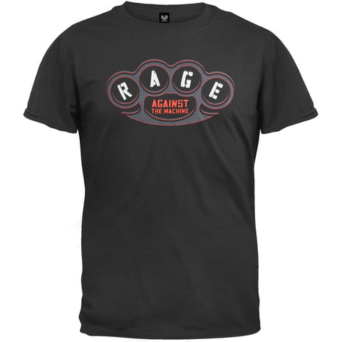 Rage Against The Machine - Brass Knuckles Soft T-Shirt