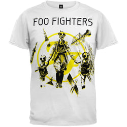 Foo Fighters - Gas Mask Family Soft T-Shirt