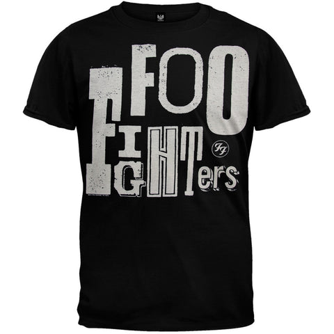 Foo Fighters - Random Letters Soft T-Shirt