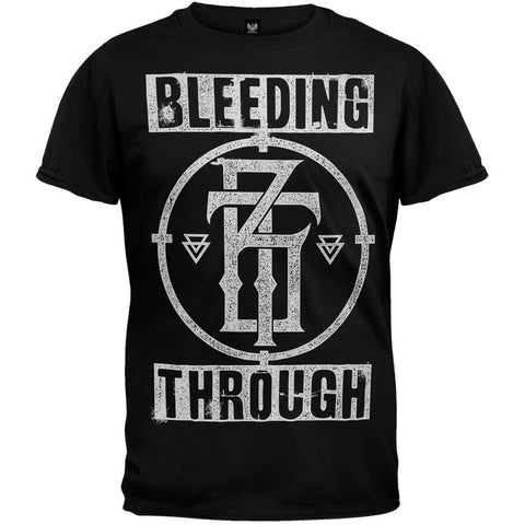 Bleeding Through - Crosshair T-Shirt