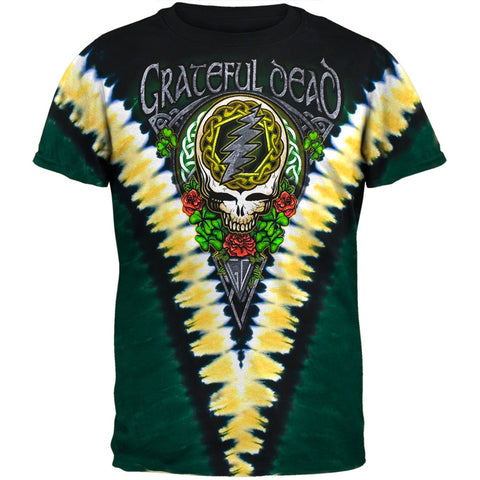 Grateful Dead - Shamrock Tie Dye T-Shirt