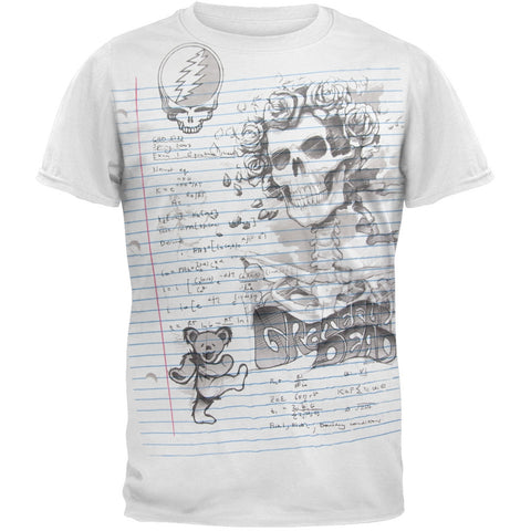 Grateful Dead - Sketch Soft T-Shirt