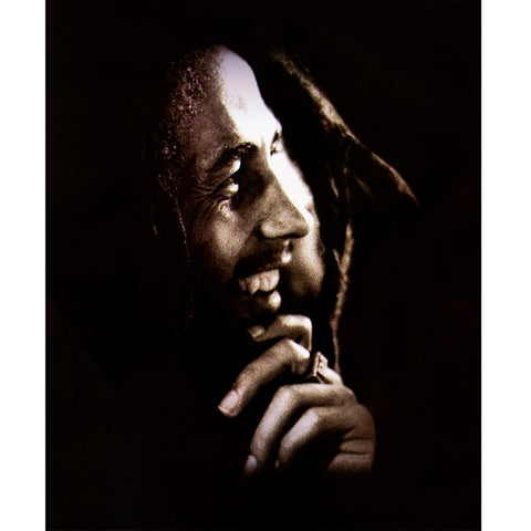 Bob Marley - Smile Fleece Blanket