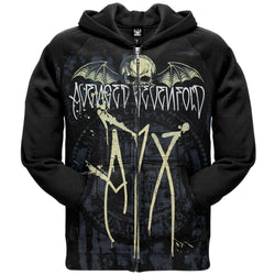 Avenged Sevenfold - Deathbat Splatter Zip Hoodie
