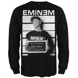 Eminem - Mugshot Long Sleeve T-Shirt
