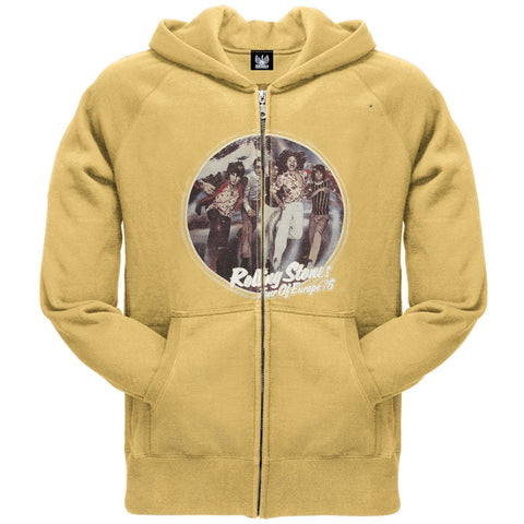 Rolling Stones - Tour Of Europe 76 Zip Hoodie