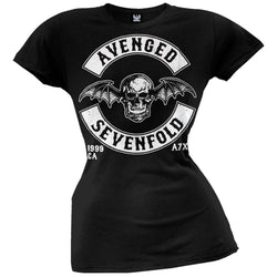 Avenged Sevenfold - Deathbat Crest Juniors T-Shirt